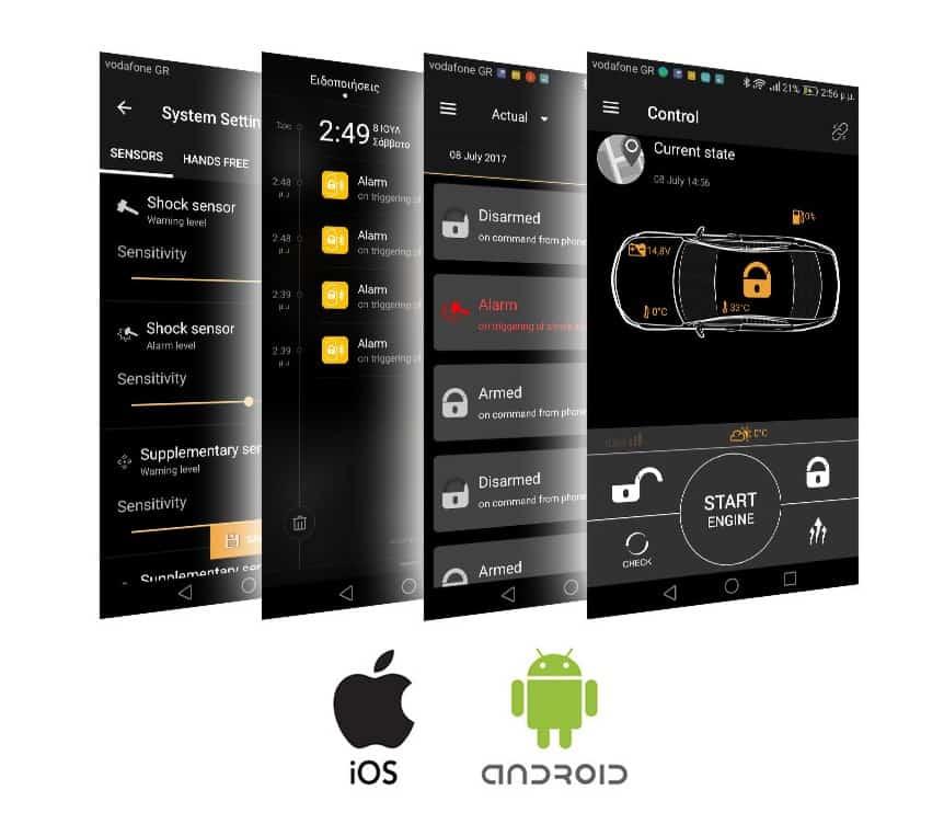 Pandora Smart Pro Alarmanlage Smartphone App Berlin