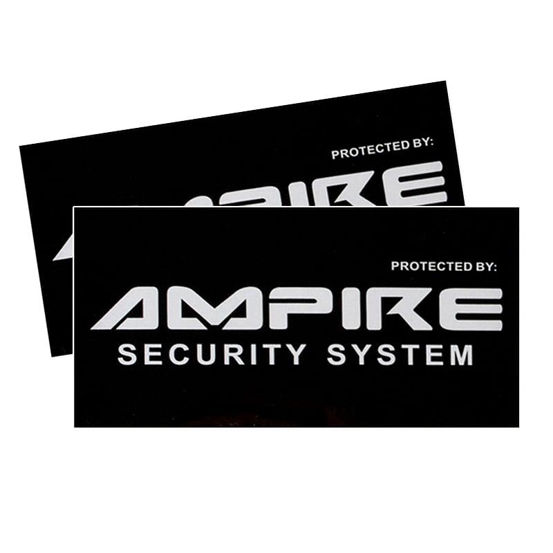 Ampire Gratis Sticker für die Seitenscheiben