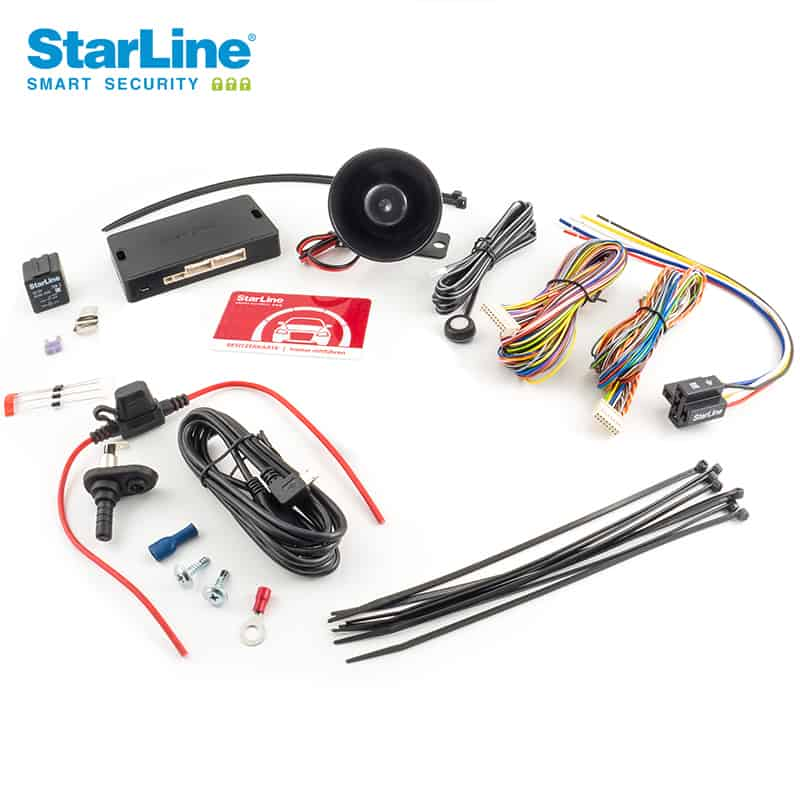 Starline e66 Alarmanlage mit Wegfahrsperre
