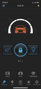 Starline Alarmanlagen Smartphone App