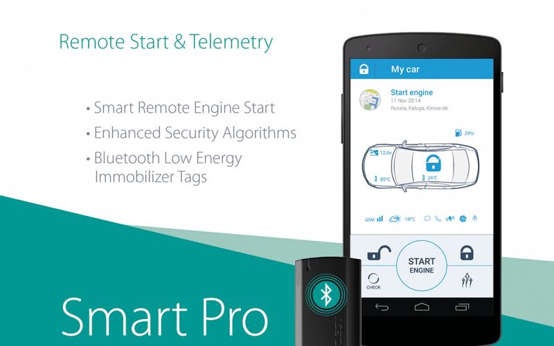 Pandora Smart Pro Autoalarm mit GPS Ortung, Smartphone App, Wegfahrsperre, inkl. SIM Karte und Einbau 1199€
