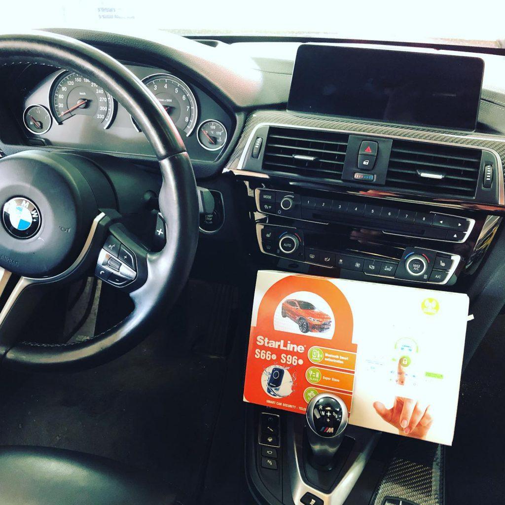 BMW M4 Alarmanlage Nachrüstung in Berlin