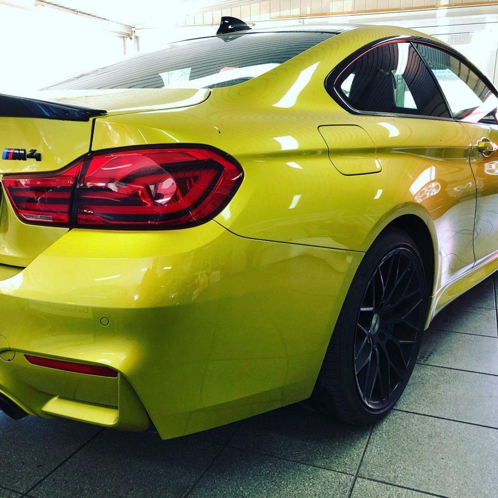 BMW M4 Alarmanlage Nacrüstung mit der besten Alarmanlage von Starline