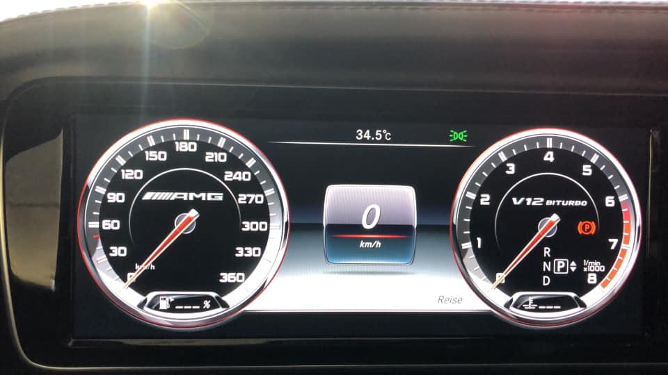 Mercedes AMG S65 W222 Autoalarm Nachrüstung