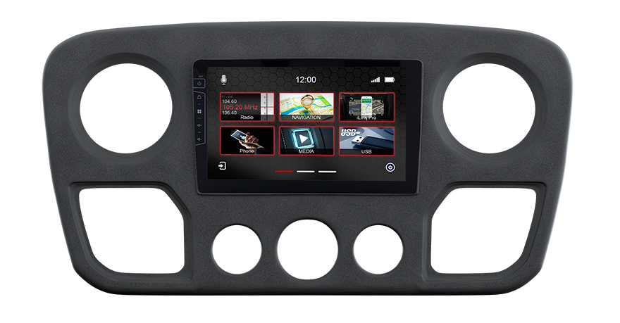 Caravan Navigation Multimedia Renault Master