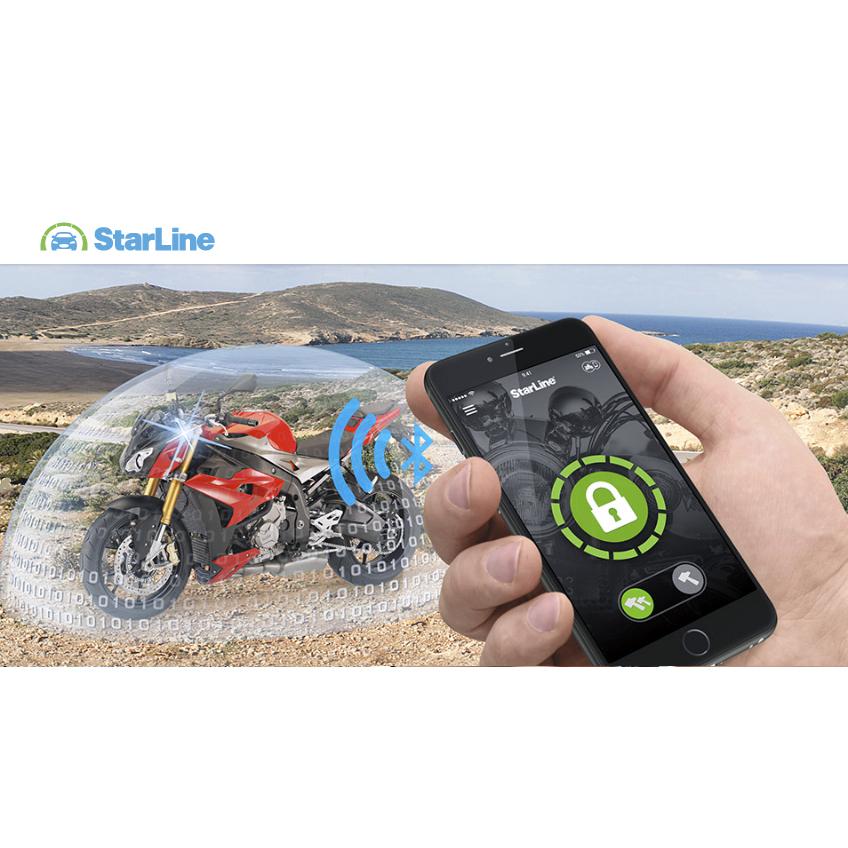 Starline V66 Motorrad Alarmanlage Smartphone app