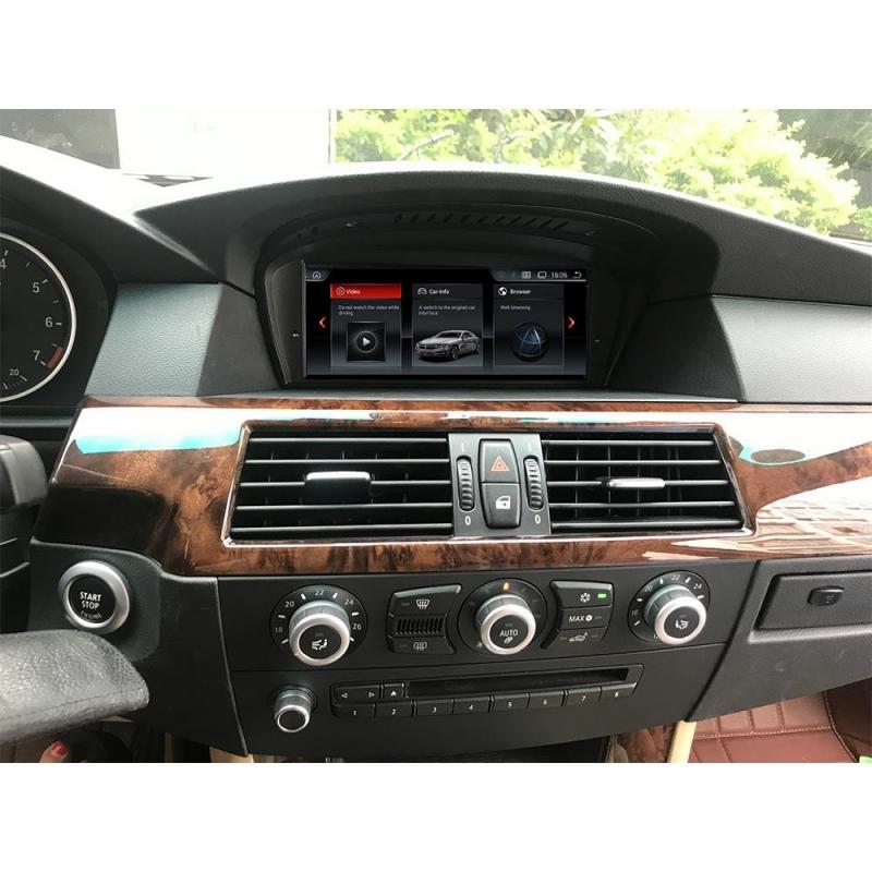 """BMW E60 E61 E63 E64 E90 E91 E92 CCC 8.8"""" Touchscreen Android 9 GPS NAVI GPS USB"""