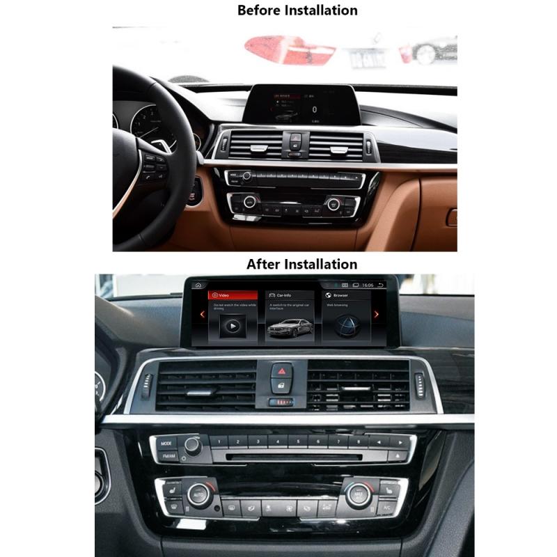 """BMW F30 F31 F32 F33 F34 F35 F36 10.25"""" Android 8 Touchscreen GPS NAVI USB WIFI"""