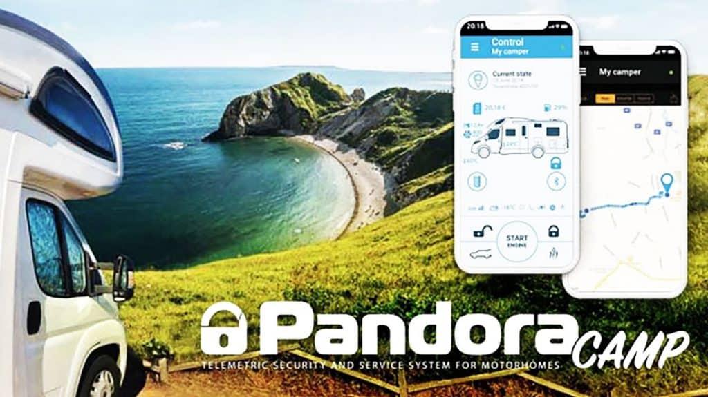Pandora Camper WoMo Alarmanlage Wohnmobil