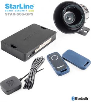Satrline S66-GPS Alarmanlage mit Smartphone App Wegfahrsperre und GPS Ortungssystem