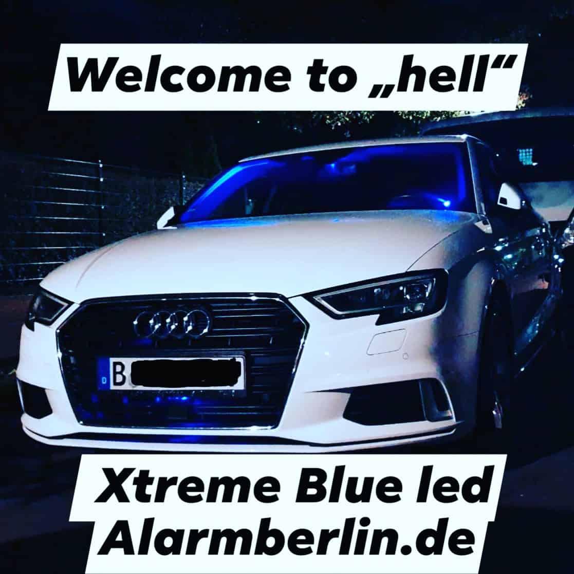 Projekte und Videos : Xtreme Blue LED und Pandora Alarmanlage, eine extrem gute Kombination