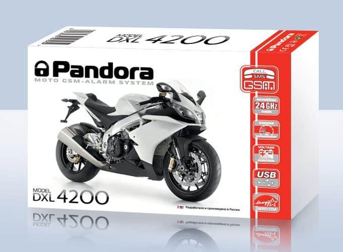 Pandora Moto Alarmanlage